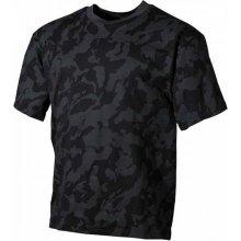 MFH maskáčové tričko vzor night camo 170g/m2