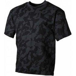 9a32e6aaa6 MFH maskáčové tričko vzor night camo 170g m2