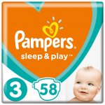 Pampers Sleep&play S3 midi 5-9 kg 58 ks