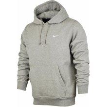 Nike CLUB HOODY-SWOOSH šedá