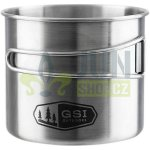 GSI Glacier Stainless Bottle Cup Large