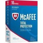 McAfee Total Protection 10 lic. Elektronická licence (MTP00QNRXRDD)
