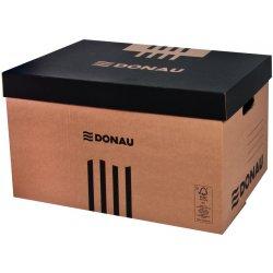 6b3beb543 Archivační krabice Donau archivační krabice 522 x 351 x 305 mm hnědá