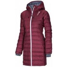 Husky Daili vínová dámský zimní péřový kabát Optimal 5000