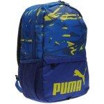 Puma batoh Mini Backpack blue/lime