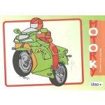 Omaľovánka A5 Litera Motorky