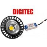 Digitec LED žárovka AR112 bílá 18W