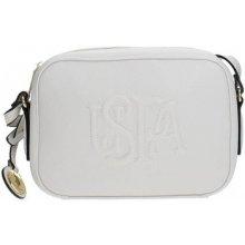U.S. Polo Assn. BEUHR0120WV crossbody Bag Women WHITE bílá