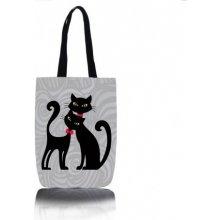 Kočičí kabelka šopovka