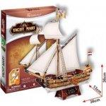 Alltoys 3D Puzzle Jachta Mary 83 dílků