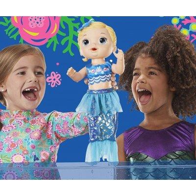 Hasbro Baby Alive Blond mořská panna