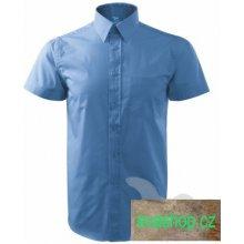 pánská Shirt short sleeve nebesky modrá