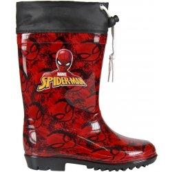 Disney Brand Chlapecké holínky Spiderman červené e693482885