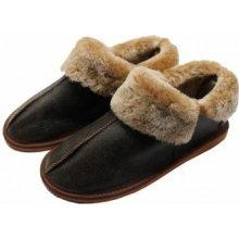 Gepard Luxusní dámské kožešinové pantofle B3 Jungle