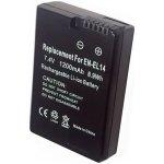 TRX EN-EL14 1200 mAh baterie - neoriginální