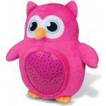 Xtrem Toys Usínáček sova růžová