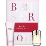 Cartier Baiser Volé XIV. EdP 50 ml + sprchový gel 100 ml dárková sada