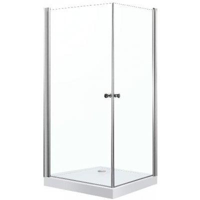 Sprchový bezrámový kout s vaničkou Praga Q 90x90