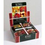 Jones Variace ochucených černých čajů papír 4 x 10 x 2 g