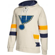 St. Louis Blues 2017 CCM Jersey Pullover Hoodie White