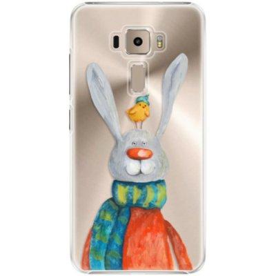 Pouzdro iSaprio Rabbit And Bird - Asus ZenFone 3 ZE520KL