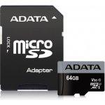 Adata MicroSDHC 64GB UHS-I AUSDX64GUI3V30S-RA1
