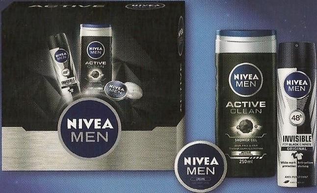 Nivea Man Deo Power antiperspirant sprej 150 ml + sprchový gel 250 ml +  krém 30 ml dárková sada alternativy - Heureka.cz e0f1346fe84