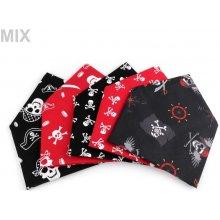 Bavlněný šátek pirát 65x65 cm 2eb1cf04a8