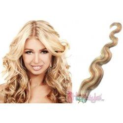 HOTstyle 60cm Tape hair   pu extension   Tape IN lidské vlasy remy vlnité –  platina bea37815fec