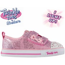 Skechers Twinkle Toes Itsy Bitsy Shoes Infant Girls Pink cfc580fe2d