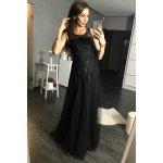7356b8c96738 Eva   Lola dámské společenské šaty dlouhé flitrové černá