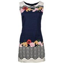 Desigual dámské šaty tmavě modrá 906f02d143