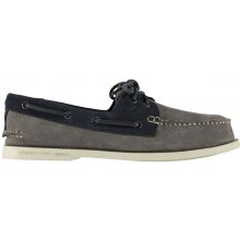 SPERRY Top Sider Wash 2 Eye Shoes Charcoal