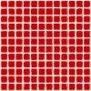 Paradyz Altea Albir Altea Rosa - obkládačka mozaika 30 x 30 (2,3 x 2,3) červená lesk Altea Rosa 2,3x2,3
