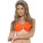 Smiffy's Havajská podprsenka oranžová