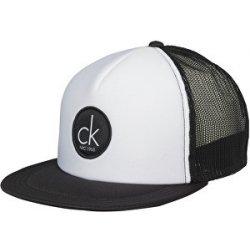 Calvin Klein Pánská kšiltovka Trucker Cap KM0KM00023-100 White Black ... a23cee8291