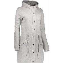 ALPINE PRO MORGANA LCTK045 dámský kabát TMAVĚ ŠEDA