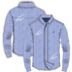 e27ace43e30 Minoti GENT 1 Košile chlapecká s dlouhým rukávem modrá od 283 Kč ...