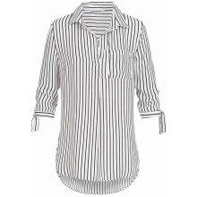0a36c6a1fd2 Hailys dámská pruhovaná košile Bea bílo černá