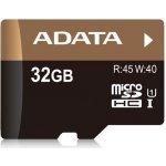 ADATA Premier Pro microSDHC 32GB UHS-I + adaptér AUSDH32GUI1-RA1