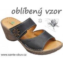Santé pantofle N 309 2 60 černé a9e540bcce