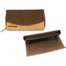 Fenz Korková peněženka P033 Hnědá P033