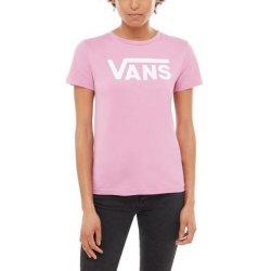 510df9159 Vans FLYING V CREW Violet. dámské tričko s krátkým rukávem zářivé barevné  provedení na prsou bílé ...