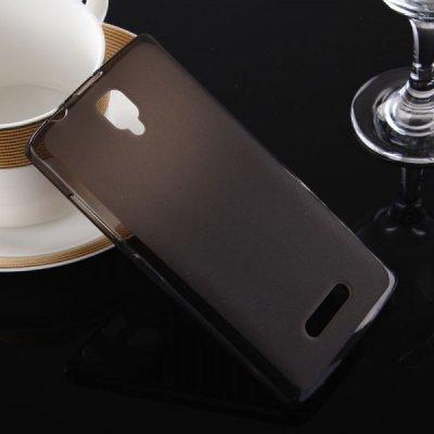 Pouzdro SES Silikonové mléčné ochranné Lenovo A2010 Dual SIM - černé
