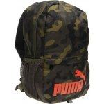 Puma batoh Mini Backpack olive/black