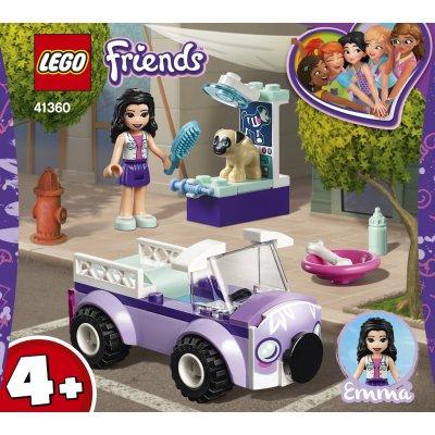 LEGO® Friends 41360 Emma a mobilní veterinární klinika