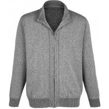 Pletený svetr Boston Park sv. šedá