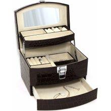 JKBox Brown SP250-A21 šperkovnice