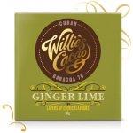 Willie's čokoláda Sierra Leone hořká se zázvorem a limetkou 70% 50g