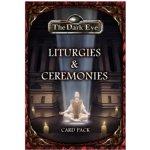 Hra na hrdiny The Dark Eye: Liturgies and Ceremonies Card Pack